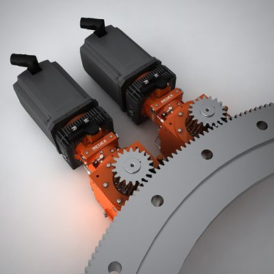 Ring Gear Amp Pinion Drives For Very High Performances