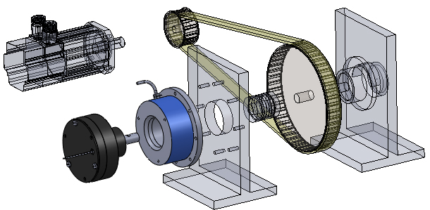 Load simulation for test bench for Electric motor test bench